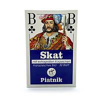 Покерные карты Piatnik Skat 32 карты