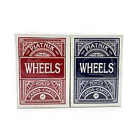 Покерные карты Piatnik Wheels Poker