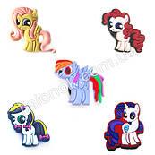Джибитсы Моя маленькая пони набор 5 шт., всем фанатам My little Pony, набор №1
