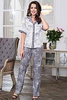 """Комплект пижама """"Коллет"""" 6556 XXL (6556 - Женские пижамы)"""