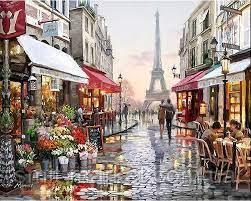 """Картина за номерами """"Париж"""""""