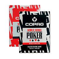 Покерные карты Copag WSOP Jumbo Index