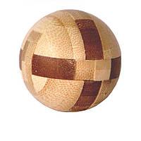 Головоломка бамбуковая Ball