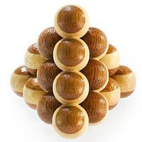 Головоломка бамбукова Cannon Balls