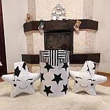 """Большая корзина для игрушек """"Звездочки"""", высота 60 см, диаметр 35 см, фото 2"""