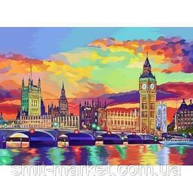 """Картина за номерами """"Лондон"""""""