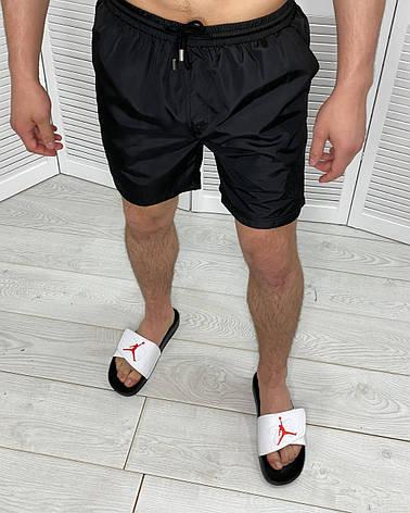 Шорти чоловічі плавальні спортивні пляжні Billionaire Чорні 50, фото 2