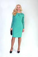 Нарядное женское платье с гипюром, 48 - 54