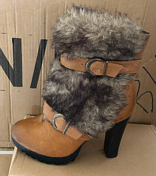 Женские ботинки Fur