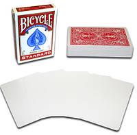 Карты для фокусов Bicycle Blank Face