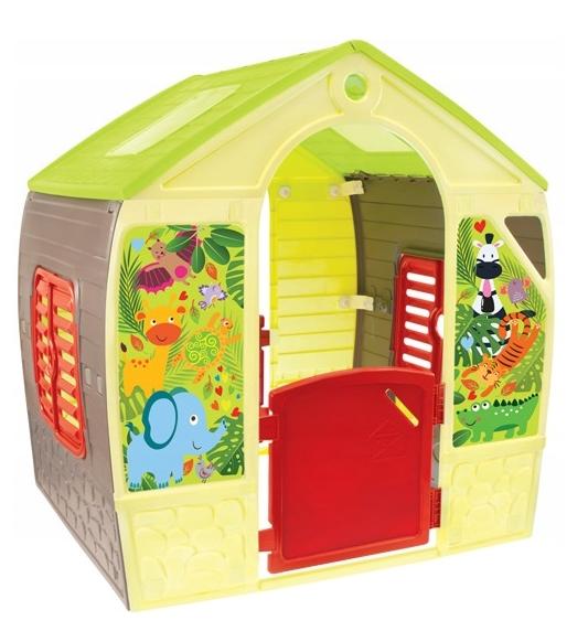 Дитячий ігровий будиночок пластиковий садовий Happy House