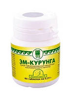 Кисломолочный продукт ЭМ-Курунга, таблетки, 60 шт