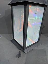 УЦЕНКА! Лампа-фонарь с подсветкой Stenson R28324, 13х13х28 см