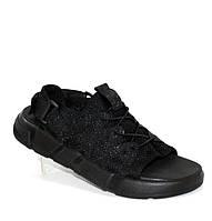 Мужские сандалии черные, фото 1