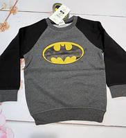 Реглан Batman Бэтман от  cool club для мальчиков с начесом 110 рост