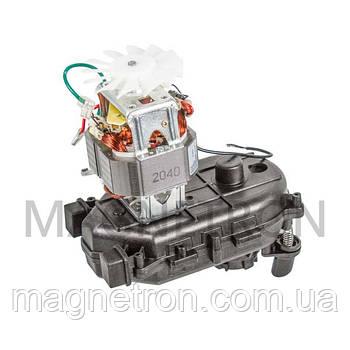 Двигатель MS-651371 с редуктором для мясорубок Moulinex