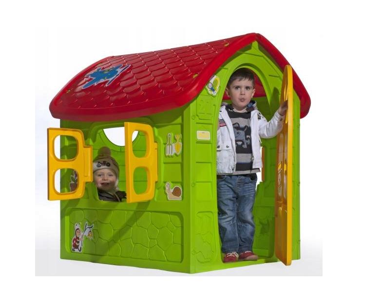 Дитячий ігровий будиночок пластиковий садовий Mochtoys Dorex