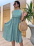 Літнє плаття із завищеною талією з штапелю в квітковий принт (р. 42, 44, 46) 4032575, фото 10