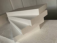 Пенопласт ТУ  М25,   размеры 1000x500x100мм, плотность 11 кг/м3