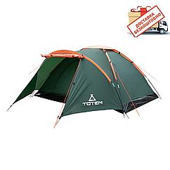 Палатка Totem Summer 2 Plus v2 (TTT-030). Палатка туристическая.