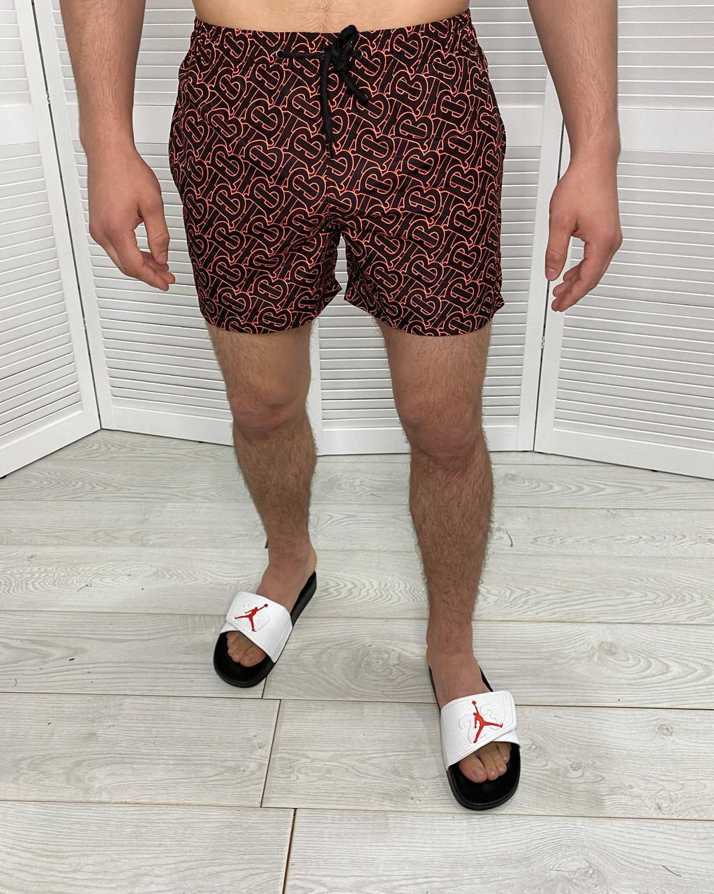 Мужские купальные плавки Burberry Яркие пляжные плавательные шорты для мужчин