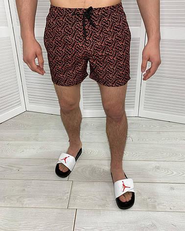 Мужские купальные плавки Burberry Яркие пляжные плавательные шорты для мужчин, фото 2