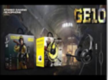 Накладні навушники провідні ігрові з мікрофоном GE10