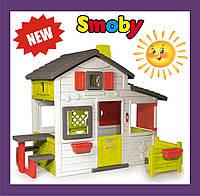 Домик с чердаком и дверным звонком Smoby 810203