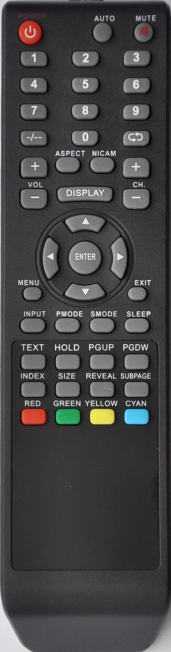 Пульт к телевизору  SATURN. Модель LCD