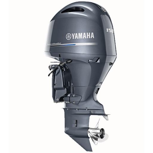 Двигун для човна Yamaha F150DETX - підвісний двигун для яхт і рибальських човнів