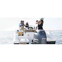 Двигун для човна Yamaha F150DETX - підвісний двигун для яхт і рибальських човнів, фото 3