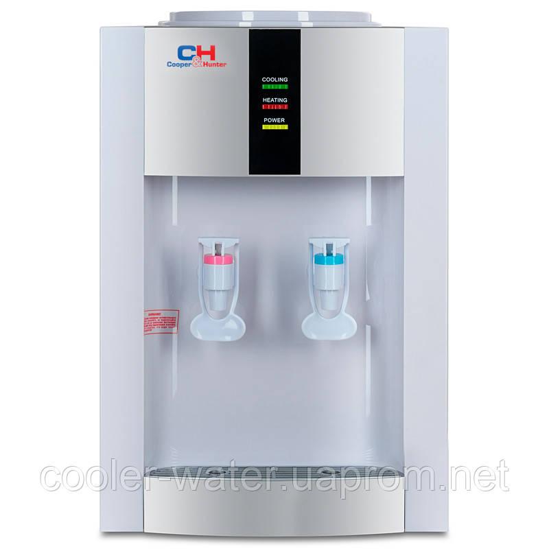 Кулер для воды с нагревом и охлаждением Cooper&Hunter H1-T White