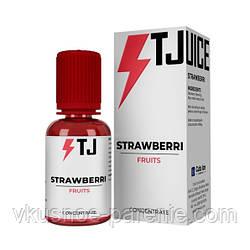 Ароматизатор T-juice Strawberri Concentrate 30 мл (Клубника Малина Сливки)