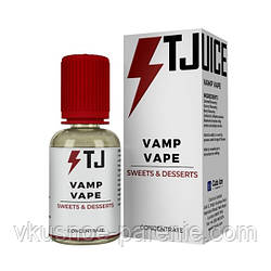 Ароматизатор T-juice Vamp Vape Concentrate 30 мл (Карамель Сливки Кокос)