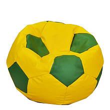 Безкаркасне крісло м'яч - оксфорд жовто-зелений