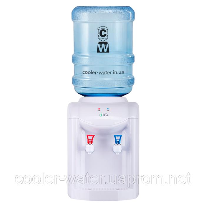 Кулер для воды с нагревом и охлаждением Ecotronic K1-TE White