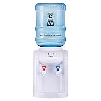 Кулер для води з нагріванням і охолодженням Ecotronic K1-TE White, фото 1