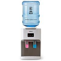Кулер для води з нагріванням і охолодженням HotFrost D115 White, фото 1