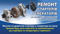 Ремонт стартеров и генераторов в Полтаве