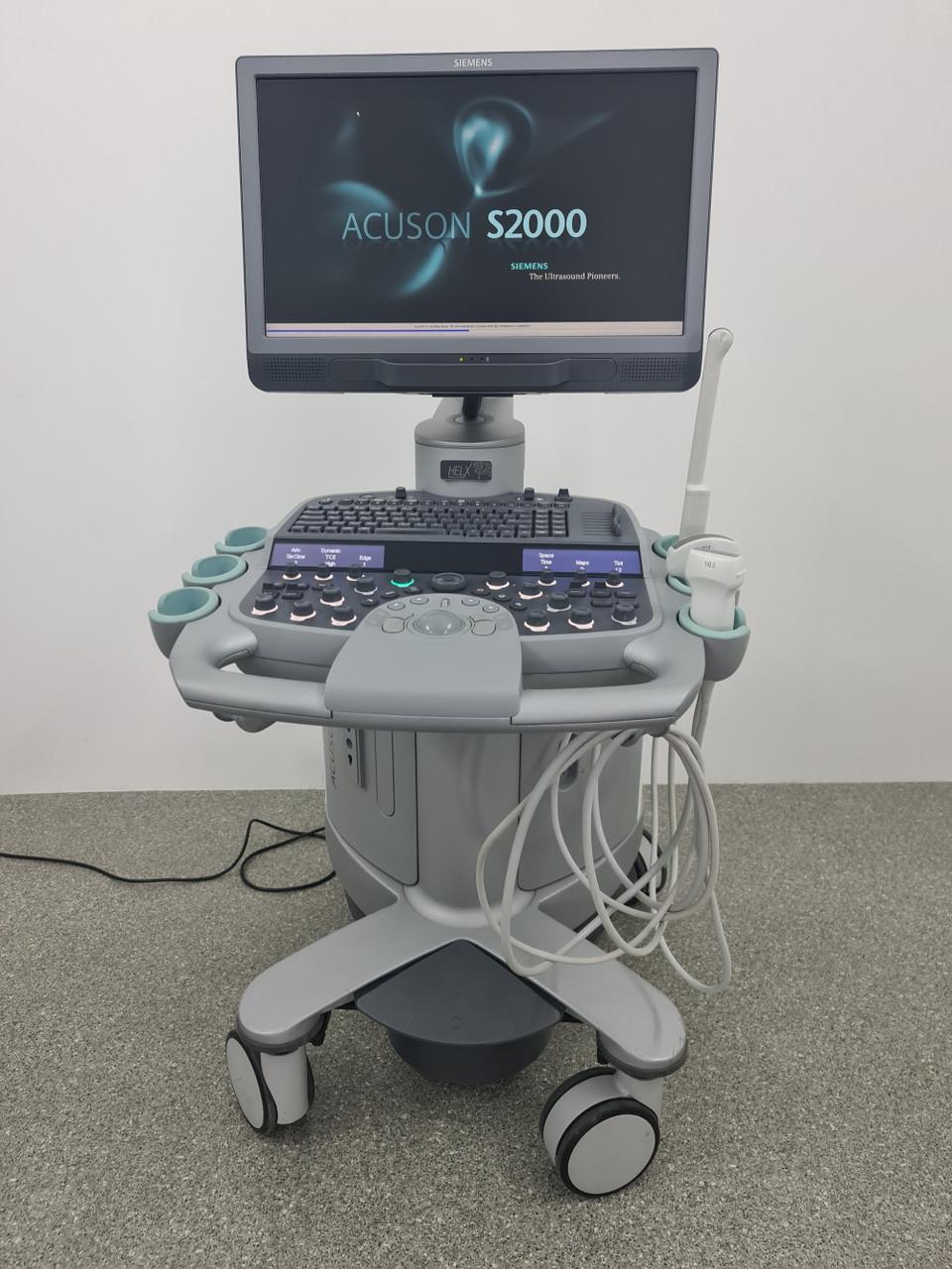 Siemens S2000 (2012) + 3 датчика Апарат УЗД