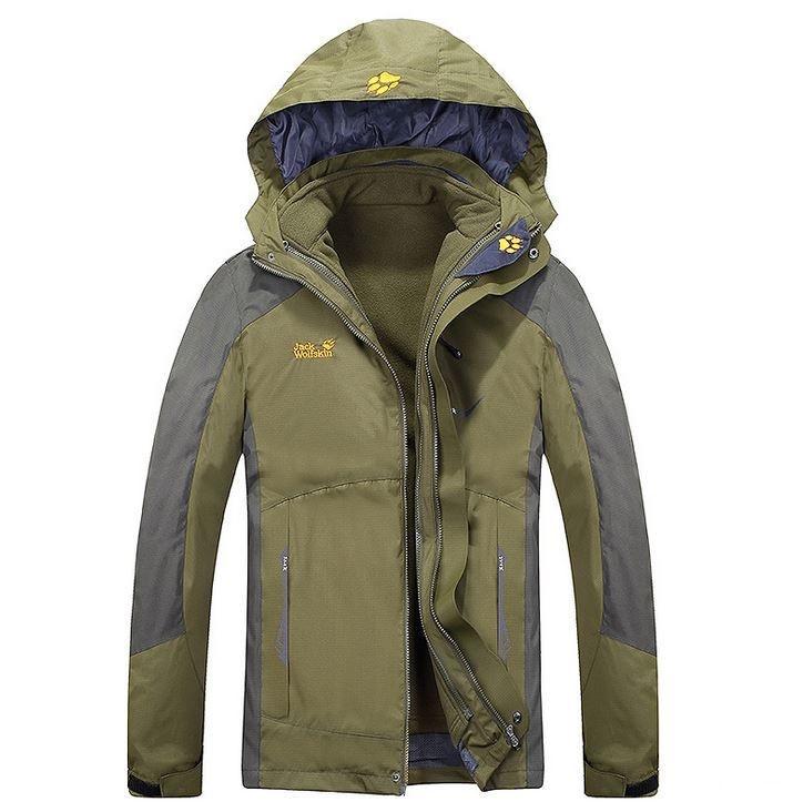 low priced 1e907 1c1b8 Мужская куртка 3 в 1 Jack Wolfskin XL-4XL. Теплые куртки. Верхняя одежда.  Мужские модные куртки. Код: КЕ355
