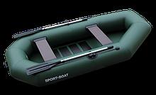 Надувная гребная лодка Cayman C270LS