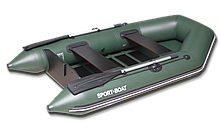 Надувний моторний човен з сланевым дном Discovery DM260LS