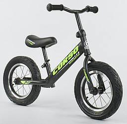 Велобег Corso стальная рама, колесо 12 Надувные колёса SKL11-250136