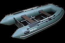 Надувная лодка под мотор c килевым днищем серия ALPHA  А 340 LК *