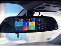 Видеорегистратор 7.0 D35. GPS, WiFI, Android, Full HD 1080 P. Сенсорное зеркало видеорегистратор.