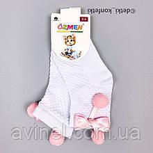 Носки для девочки Бело-розовый Турция 2-3 (р)