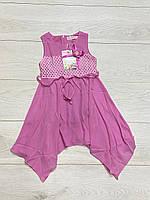 Шифоновое платье для девочек. 4- года.