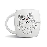 Чашка «Удивлённый кот»