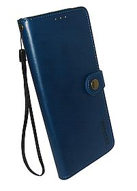 Чехол-книжка ZTE Blade A7s 2020 dark blue Leather Getman Gallant